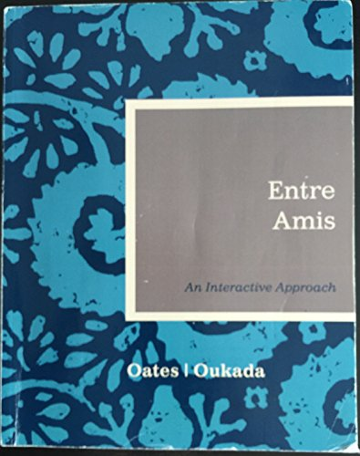ENTRE AMIS >CUSTOM<                     N/A 9781285131849 Front Cover