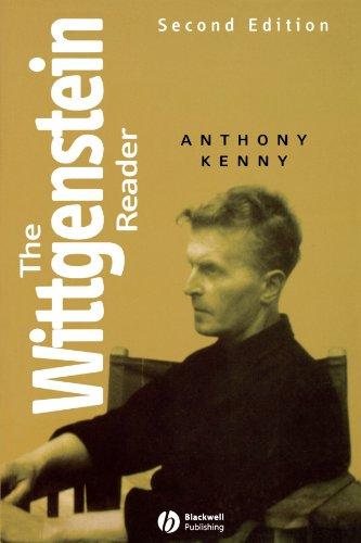 Wittgenstein Reader  2nd 2005 (Revised) edition cover