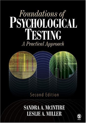 Foundations of Psychological Testing A Practical Approach 2nd 2007 (Revised) edition cover