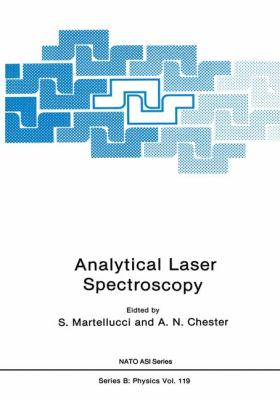 Analytical Laser Spectroscopy   1985 9781461294849 Front Cover