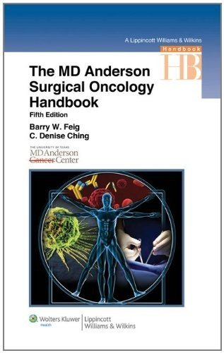 MD Anderson Surgical Oncology Handbook  5th 2012 (Revised) edition cover