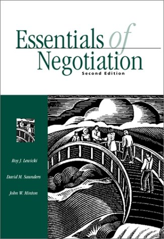 Essentials of Negotiation  2nd 2001 edition cover