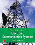 Principles of Electronic Communication Systems  4th 2016 edition cover