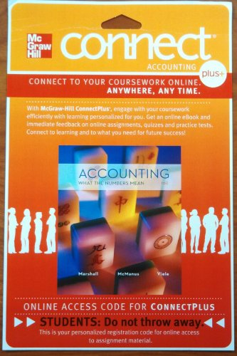 ACCOUNTING:WHAT...-CONNECT PLU N/A 9780077515850 Front Cover