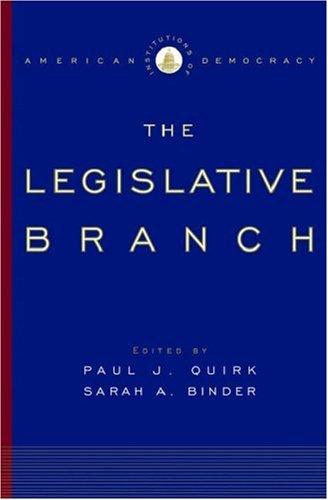 Legislative Branch   2005 edition cover
