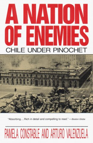 Nation of Enemies Chile under Pinochet Annual  edition cover