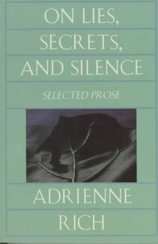 On Lies, Secrets, and Silence Selected Prose  1998 (Reprint) edition cover