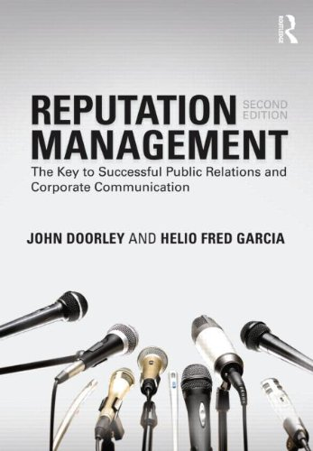 Reputation Management The Key to Successful Public Relations and Corporate Communication 2nd 2011 (Revised) edition cover