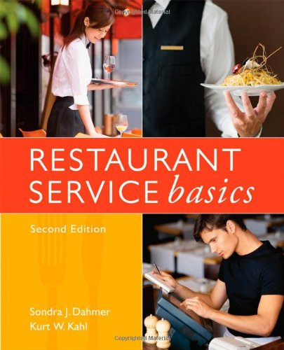 Restaurant Service Basics  2nd 2009 edition cover