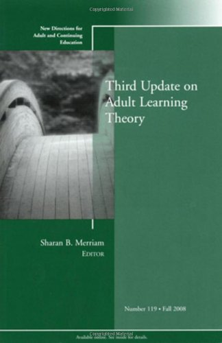 Third Update on Adult Learning Theory   2008 edition cover