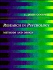 Research in Psychology Methods and Design  1995 9780471593850 Front Cover