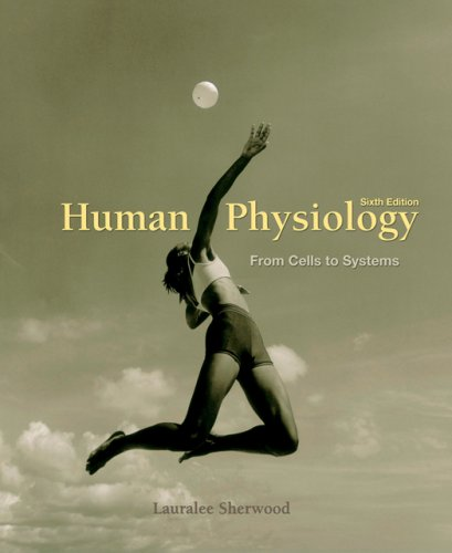 Human Physiology From Cells to Systems 6th 2007 edition cover
