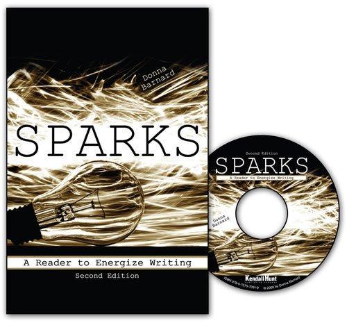 Sparks - Reader to Energize Writing  2nd 2009 (Revised) 9780757563850 Front Cover