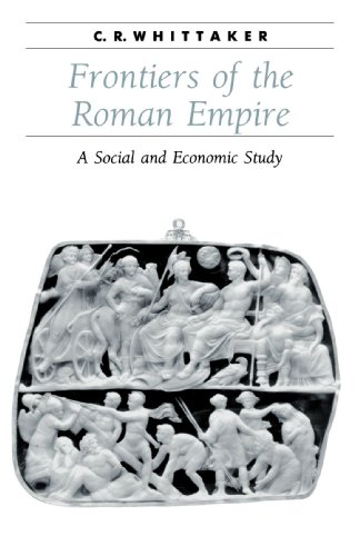 Frontiers of the Roman Empire A Social and Economic Study  1994 edition cover