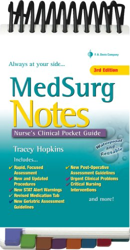 Med Surg Notes Nurse's Clinical Pocket Guide 3rd (Revised) edition cover