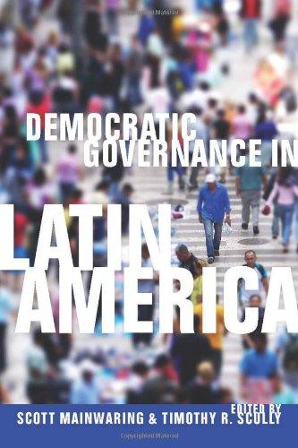 Democratic Governance in Latin America   2009 edition cover