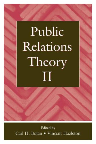 Public Relations Theory II   2006 edition cover