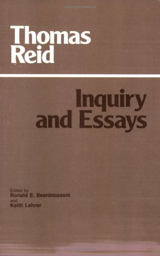 Inquiry and Essays   1983 (Reprint) edition cover