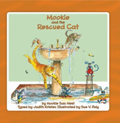 Mookie and the Rescued Cat:   2009 edition cover
