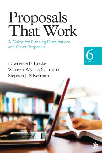 Proposals That Work A Guide for Planning Dissertations and Grant Proposals 6th 2013 edition cover
