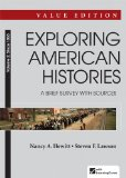 Exploring American Histories A Brief Survey - Since 1865  2014 edition cover