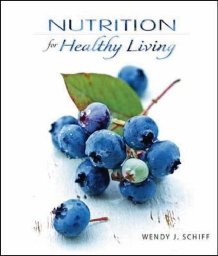 Nutrition for Healthy Living   2009 edition cover