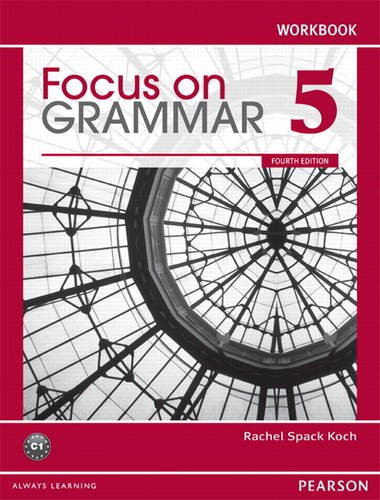 Focus on Grammar 5 Workbook  4th 2012 edition cover