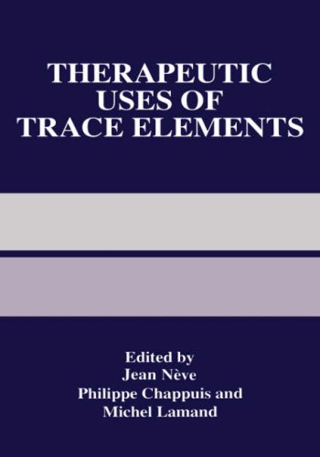 Therapeutic Uses of Trace Elements   1996 9780306454851 Front Cover