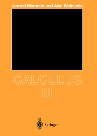 Calculus III  2nd 1985 (Revised) edition cover