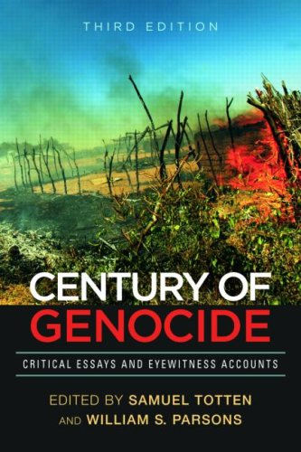 Century of Genocide Critical Essays and Eyewitness Accounts 3rd 2009 (Revised) edition cover