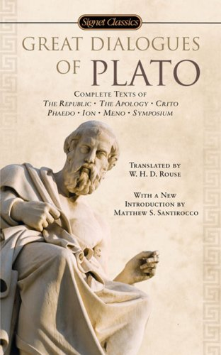 Great Dialogues of Plato  N/A edition cover