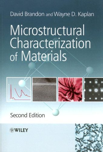 Microstructural Characterization of Materials  2nd 2008 edition cover