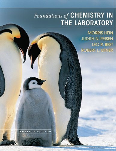 Foundations of Chemistry in the Laboratory 0 12th 2007 edition cover