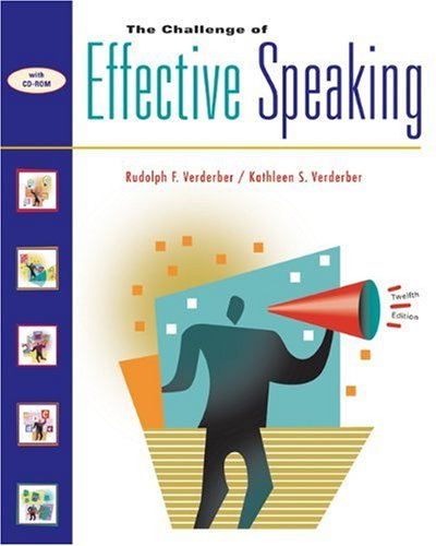 Challenge of Effective Speaking  12th 2003 9780534563851 Front Cover