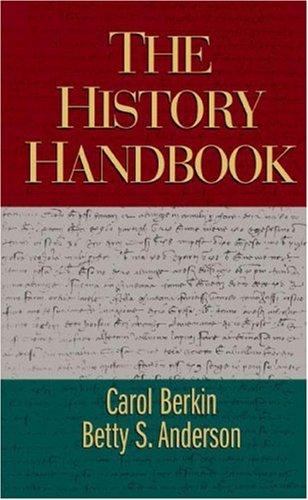 History Handbook   2003 9780618122851 Front Cover