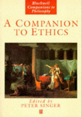 Companion to Ethics   1993 edition cover