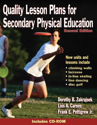 Quality Lesson Plans for Secondary Physical Education  2nd 2003 (Revised) edition cover