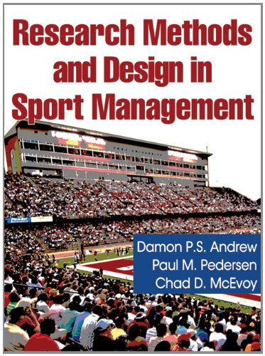 Research Methods and Design in Sport Management   2011 edition cover