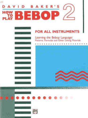 How to Play Bebop, Vol 2   1988 edition cover