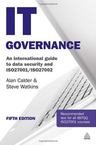 IT Governance An International Guide to Data Security and ISO27001/ISO27002 5th 2012 (Revised) 9780749464851 Front Cover