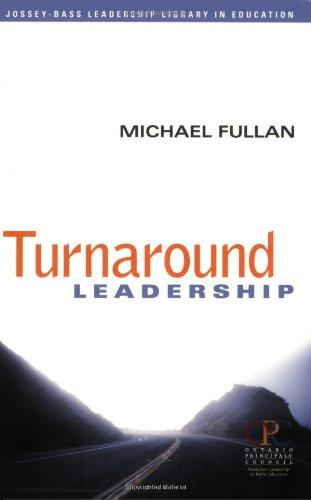 Turnaround Leadership   2006 edition cover