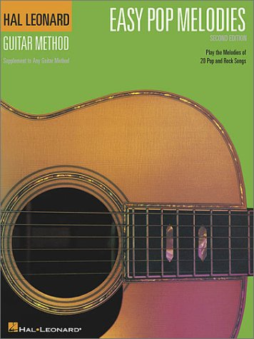 Easy Pop Melodies  3rd 2000 (Revised) edition cover