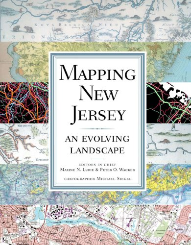 Mapping New Jersey An Evolving Landscape  2009 edition cover