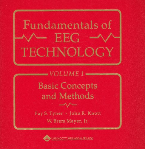 Fundamentals of EEG Technology Basic Concepts and Methods  1983 edition cover
