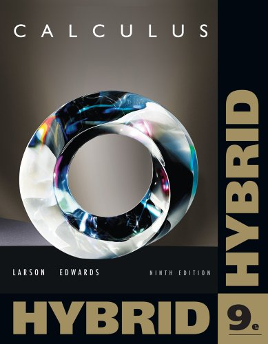 Calculus, Hybrid  9th 2012 edition cover