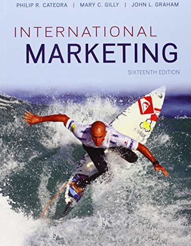 International Marketing  16th 2013 edition cover