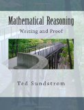 Mathematical Reasoning: Writing and Proof  N/A 9781492103851 Front Cover