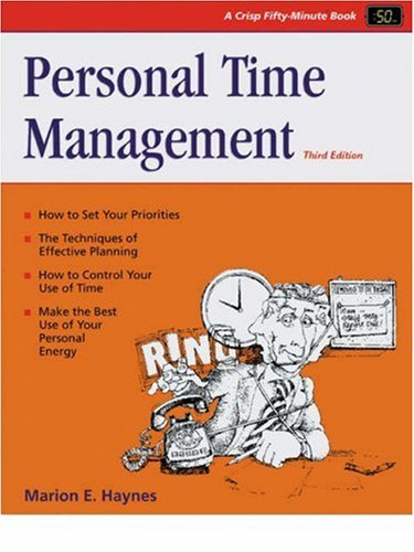 Personal Time Management 3rd 2001 (Revised) edition cover