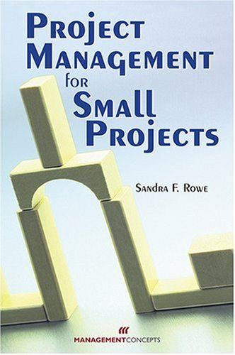 Project Management for Small Projects  2007 edition cover