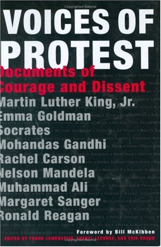 Voices of Protest Documents of Courage and Dissent  2007 edition cover